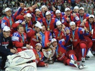 Сборная России - чемпион мира по хоккею с шайбой 2012!