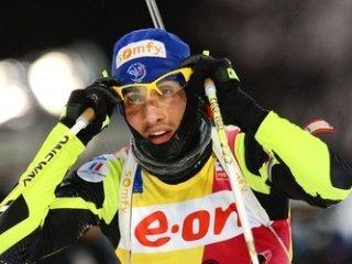 Мартен Фуркад выиграл гонку преследования, Антон Шипулин финишировал третьим