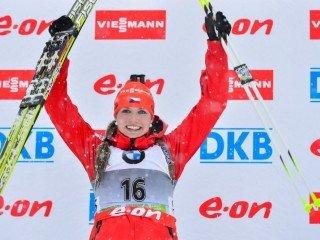 Габриэла Соукалова выиграла спринт в Поклюке