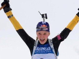 Мириам Гесснер выиграла спринт на этапе Кубка мира в Оберхофе, Ольга Зайцева - пятая