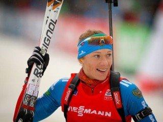 Ольга Зайцева выиграла гонку преследования на этапе Кубка мира в Оберхофе