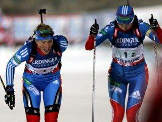 Серебряный день сборной России по биатлону