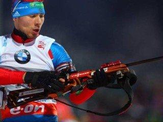 Антон Шипулин выиграл спринт на шестом этапе Кубка мира в Антхольц-Антерсельве