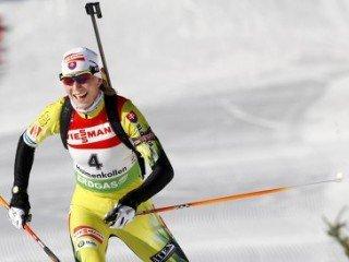 Анастасия Кузьмина выиграла женскую спринтерскую гонку, Вилухина - шестая