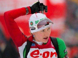 Дарья Домрачева выиграла масс-старт на чемпионате мира в Чехии